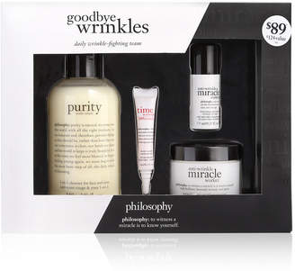 philosophy 4-Pc. Goodbye Wrinkles Loyalty Set
