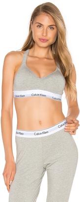 Calvin Klein Underwear Modern Cotton Bralette $44 thestylecure.com