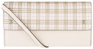 Burberry Small Scale Check Wallet Bag