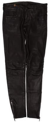 Notify Jeans Leather Skinny-Leg Pants