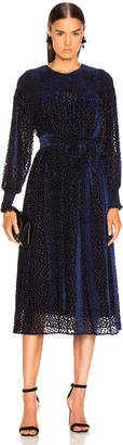 The Great Merry Dress in Navy   FWRD