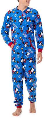 Original Penguin WEMBLEY Wembley Funsie Onesie Get Jolly Penguin 1 Piece Pajama -Men's