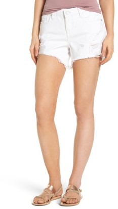 Women's Blanknyc Cutoff Denim Shorts $88 thestylecure.com