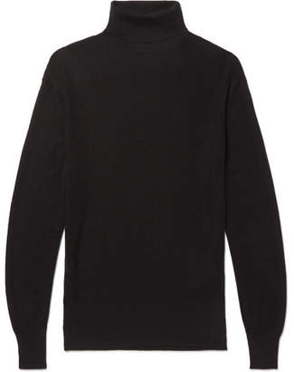 Tom Ford Ribbed Cashmere And Silk-Blend Rollneck Sweater