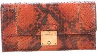 Marc JacobsMarc Jacobs Snakeskin Flap Wallet
