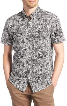 1901 Trim Fit Print Sport Shirt