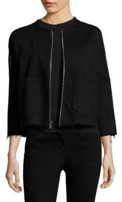 3x1 Cole Studded Crop Jacket