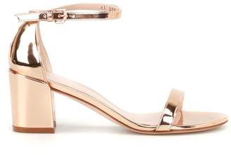 Stuart Weitzman Simple Low-heeled Sandals