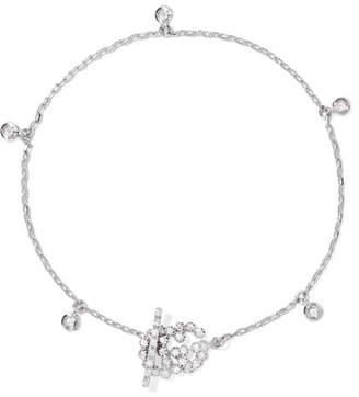 Gucci 18-karat White Gold Diamond Bracelet - small