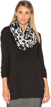 Michael Stars Big Cat Eternity Scarf $48 thestylecure.com