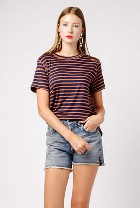 Azalea Mina Stripe Knit Tee