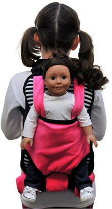 The Queen's Treasures Childs Backpack Doll Carrier, Sleeping Bag Clothes and Accessory Storage