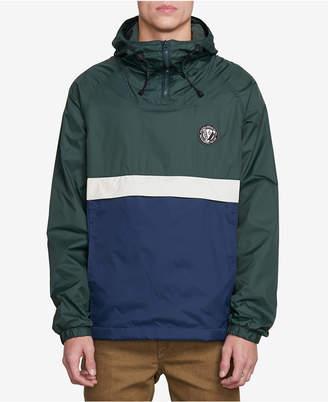 Volcom Men Colorblocked Camo Hooded Jacket