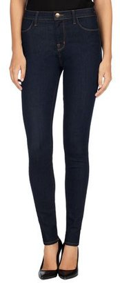 J Brand Maria High-Rise Super-Skinny Jeans, After Dark $188 thestylecure.com