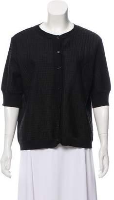 Marni Short Sleeve Oversize Cardigan