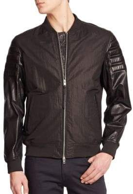 J. Lindeberg Bomber Zip Up Jacket