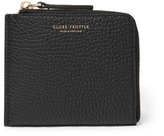 Globe-trotter Propellor Pebble-Grain Leather Zip-Around Wallet