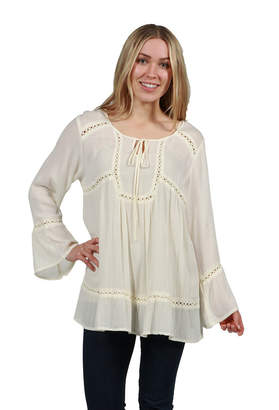 24/7 Comfort Apparel Kendra Tunic Top