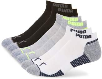 Puma 3-Pack Logo Low-Cut Socks
