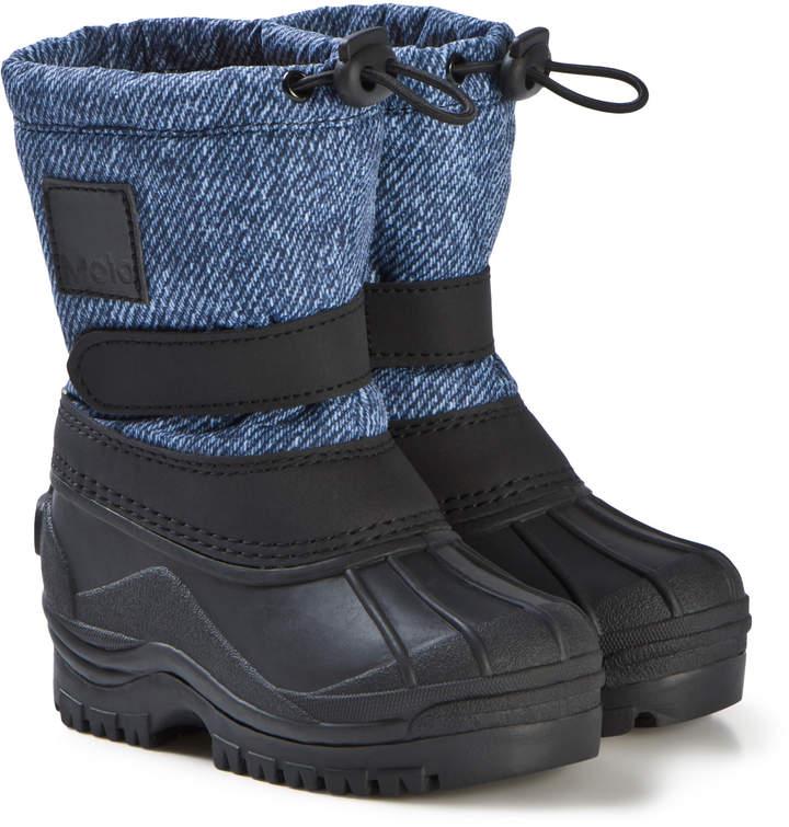 Molo Boots Driven Denim