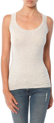 Minnie Rose Cotton/Spandex Tank $86 thestylecure.com