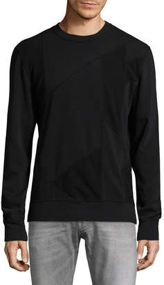 BLK DNM BLK Denim 61 Patch Crewneck Sweatshirt