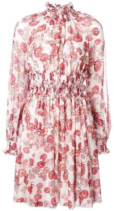 Giambattista Valli floral printed flared dress