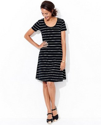 Women's Scoopneck Pima Dress $88 thestylecure.com