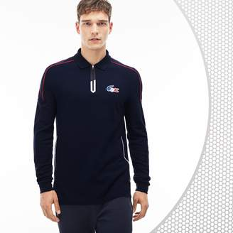 Lacoste Men's French Sporting Spirit Edition Thick Pique Polo