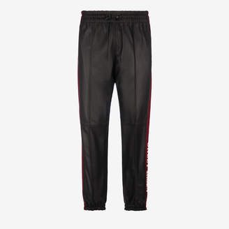 Bally LEATHER TROUSERS X SHOK-1