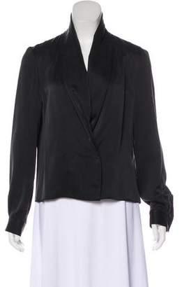 The Row Silk Long Sleeve Blouse w/ Tags