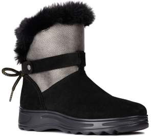 Geox Hosmos Faux Fur Trim Boot