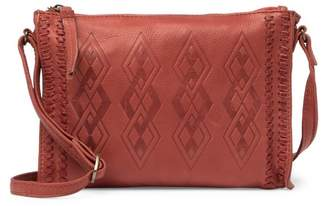 Day & Mood Leather Penny Crossbody Bag