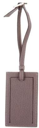 Gucci Leather Luggage Tag