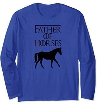 Unique Black Father Of Horse Lover Gift E010440