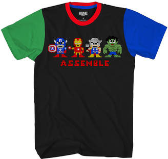 Novelty T-Shirts Short Sleeve Crew Neck T-Shirt Boys