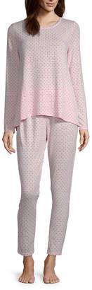 Liz Claiborne Women's Peplum Pajama Set