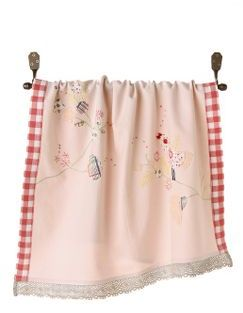 Chatty Birds Dishtowel