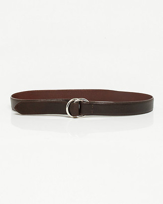 a12b87e0877 Le Château Textured Leather D-ring Belt