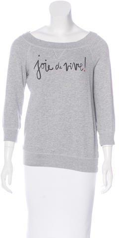 Kate SpadeKate Spade New York Joie de Vivre Pullover Sweatshirt