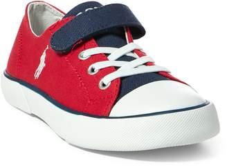 Ralph Lauren Koni Canvas Low-Top Sneaker