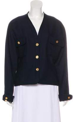 Chanel Collarless Jacket