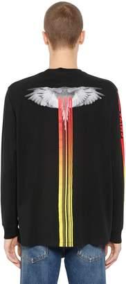 Marcelo Burlon County of Milan Motorcross Wings Jersey T-Shirt