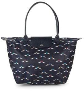 Longchamp Le Pliage Cheveaux Ailes Nylon Large Tote