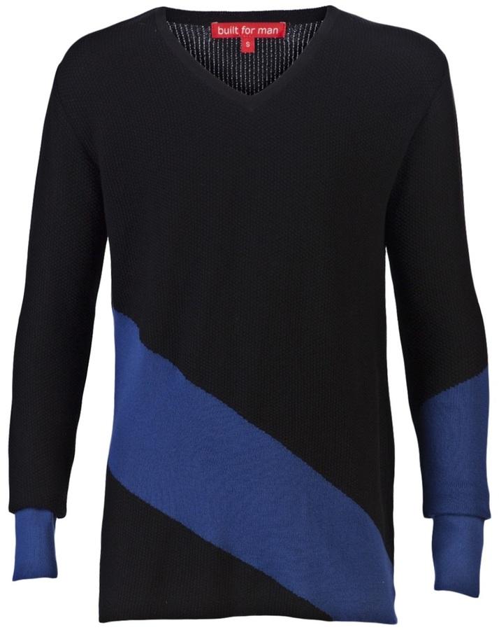 Built For Man v-neck sweater
