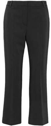 Alexander Wang Cropped Twill Straight-Leg Pants
