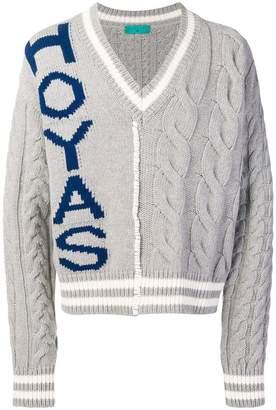 Paura v-neck knit sweater