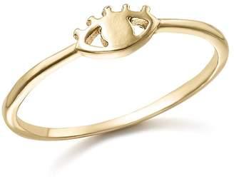 Bing Bang Nyc 14K Yellow Gold Eye Ring