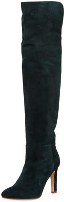 Gabriela Hearst Linda Over-The-Knee Croc Boots