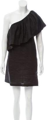 Mara Hoffman Linen One-Shoulder Dress w/ Tags